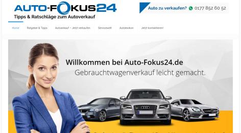 Auto-Fokus24 - Autoankauf und Gebrauchtwagen - Portal