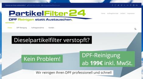 Partikelfilter24.com - DPF Reinigen statt Austauschen