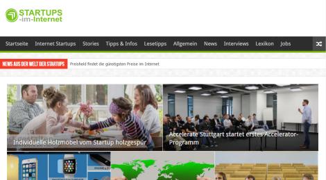 Startups im Internet   Interessante und kreative Internet Startups