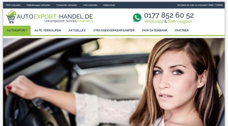Autoexport-Handel - Auto verkaufen leicht gemacht
